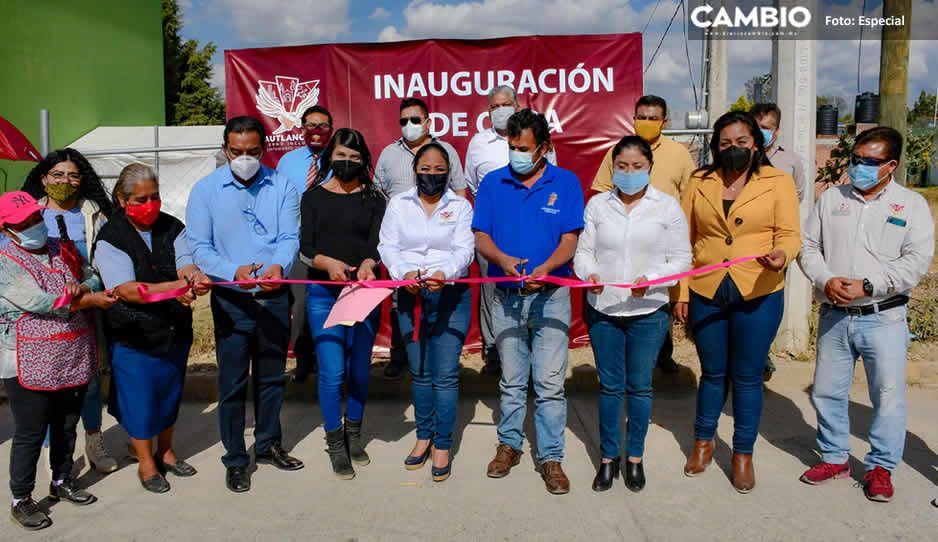 Lupita Daniel inicia obras municipales por nueve millones de pesos en Cuautlancingo