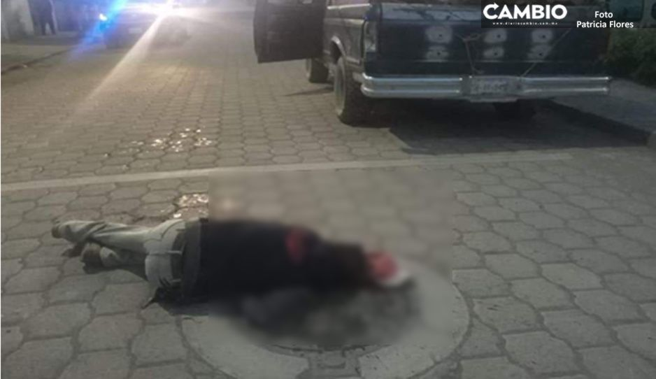 Ejecutan a hombre de un balazo en la cabeza en Tehuacán
