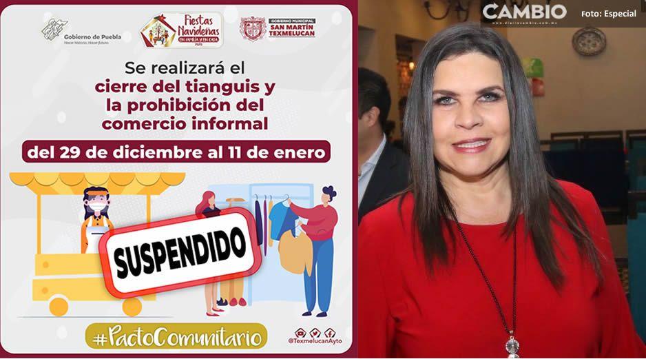 Norma Layón exhorta a comerciantes a respetar nuevas medidas por COVID