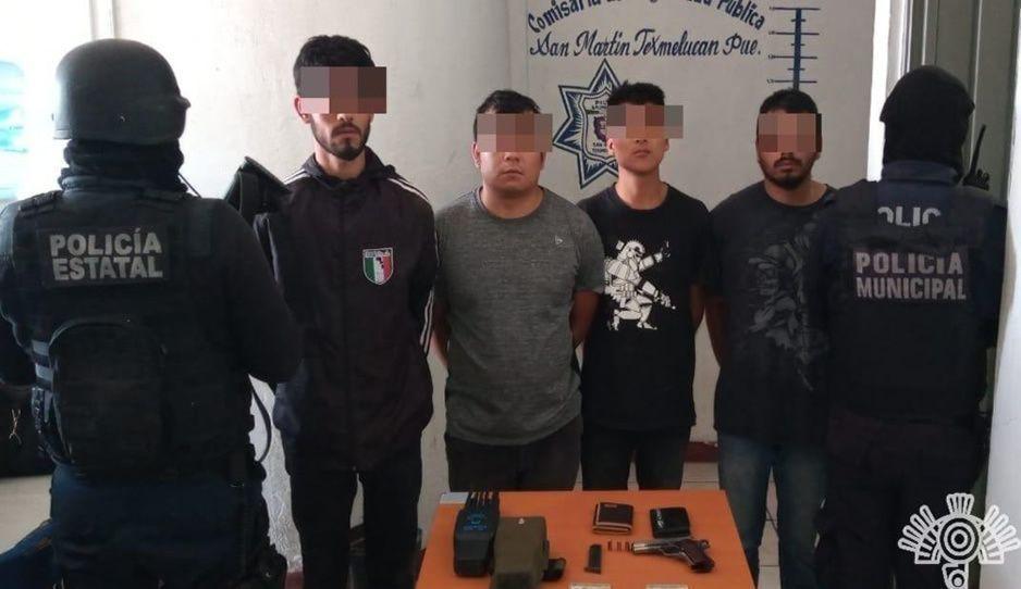 Capturan a cuatro narcomenudistas de Los Meléndez en Texmelucan