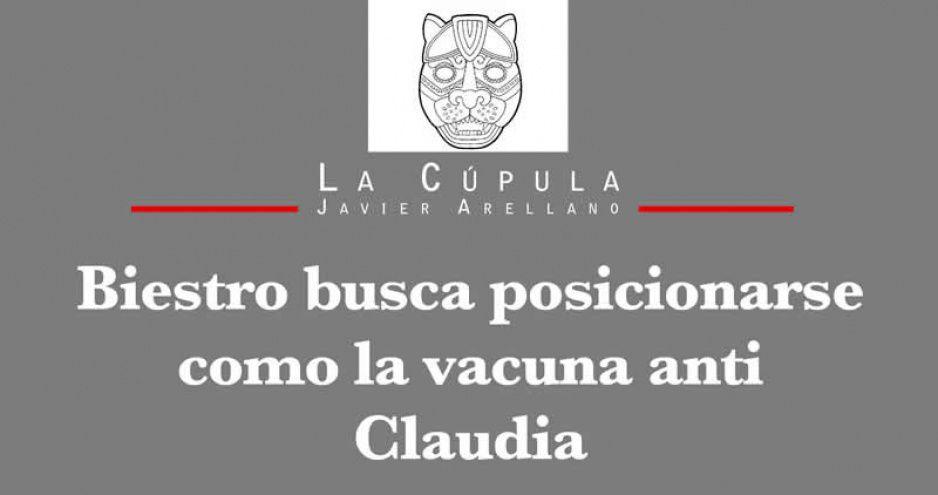 Biestro busca posicionarse como la vacuna anti Claudia