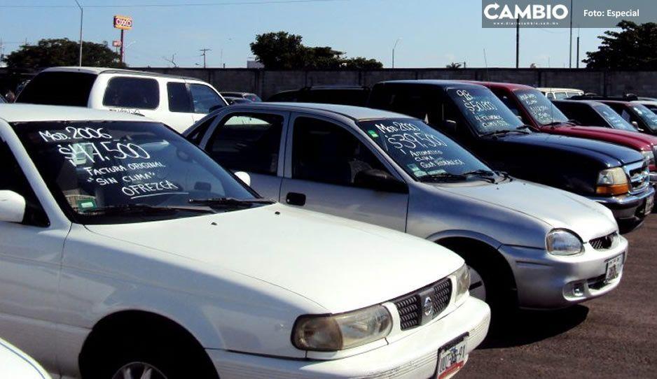 Con operativo impiden instalación de tianguis de autos en Texmelucan