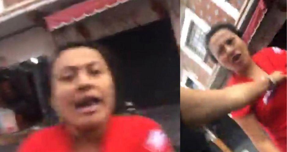 Golpean a reportera de Puebla durante grabación del Covid en el Parián  (VIDEO)