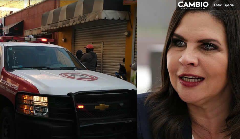 Norma Layón ordena megaoperativos para cerrar negocios no esenciales en Texmelucan