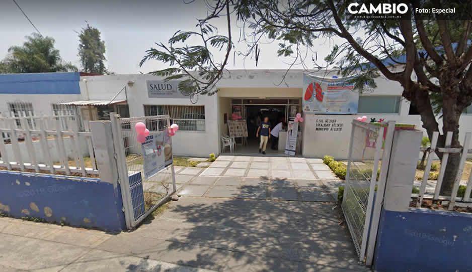 Desmiente el delegado Ángel Cervantes que el Centro de Salud Urbano de Atlixco este cerrado