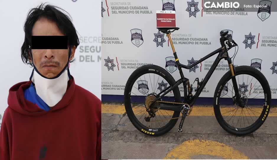 Capturan a rata tras robar bicicleta de 300 mil pesos en Los Volcanes