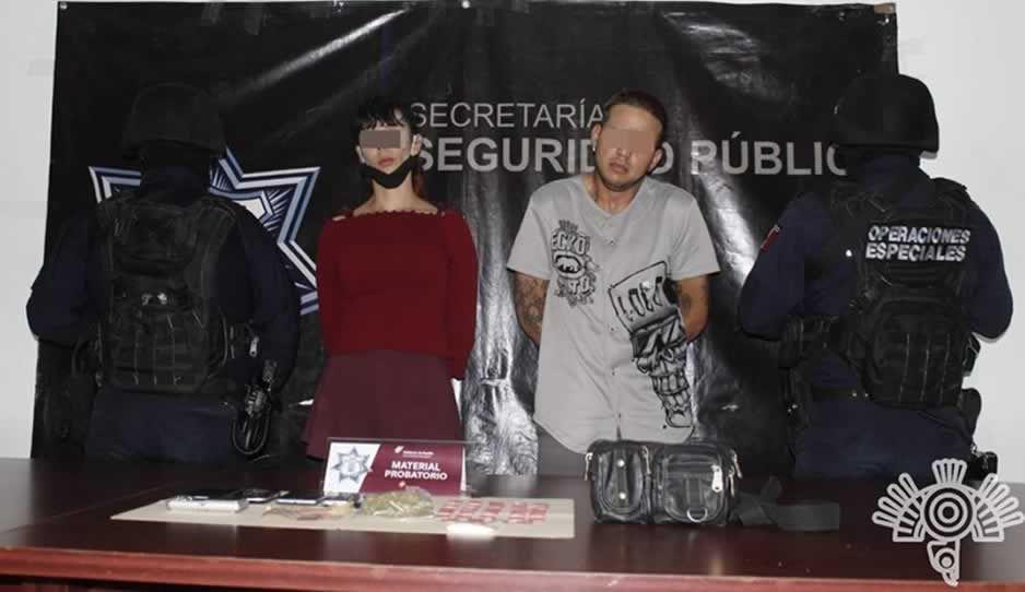 Caen narcomenudistas de Los Sinaloa; distribuía droga bares en de Cholula