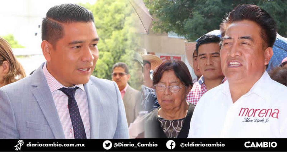 Atiborran los Xicale con parientes y novios el Ayuntamiento de San Andrés