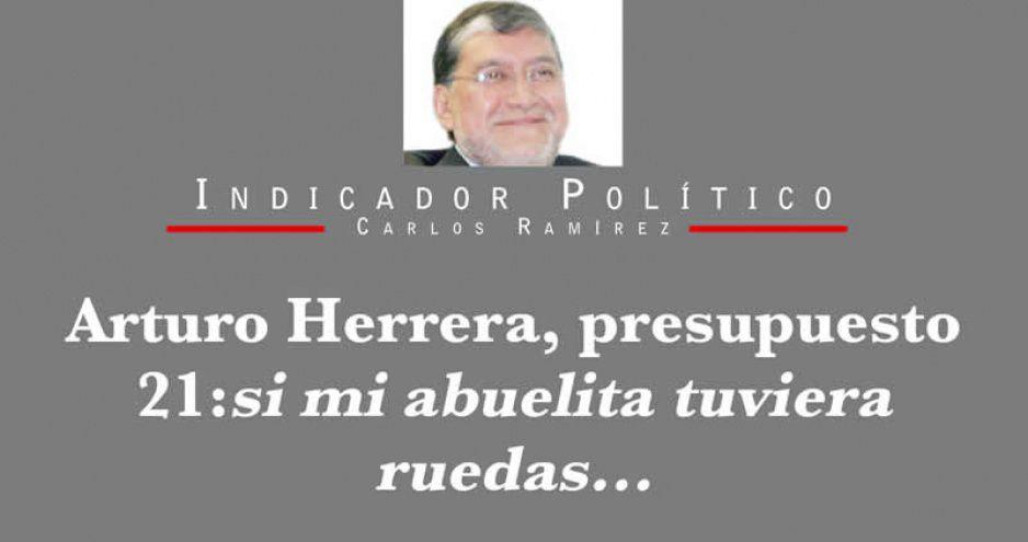Arturo Herrera, presupuesto 21: si mi abuelita tuviera ruedas…