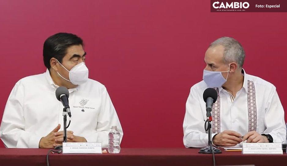 Sostienen Barbosa y Gatell reunión con los 217 alcaldes: no anuncian apoyos específicos