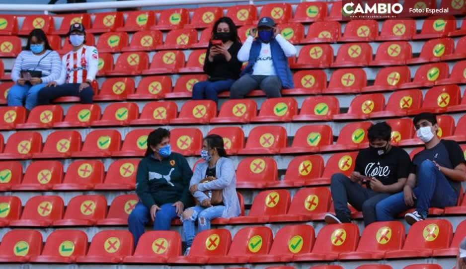 Así se vivió el regreso de la afición del Necaxa al Estadio Victoria (VIDEO)