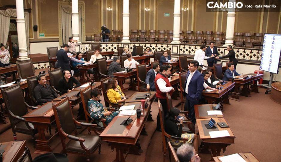 Congreso aprueba denunciar a ex ediles de 4 municipios de Puebla por daño patrimonial