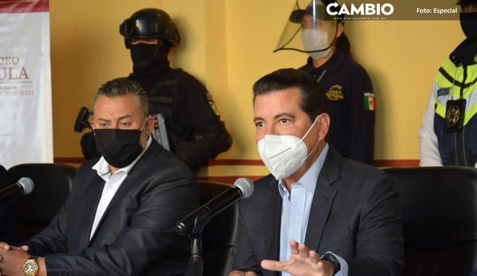 Reconoce Luis Alberto Arriaga desempeño  de la Policía municipal ante la pandemia