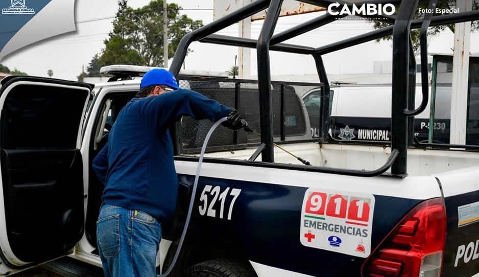 Ayuntamiento de Cuautlancingo intensifica  acciones de prevención para evitar contagios