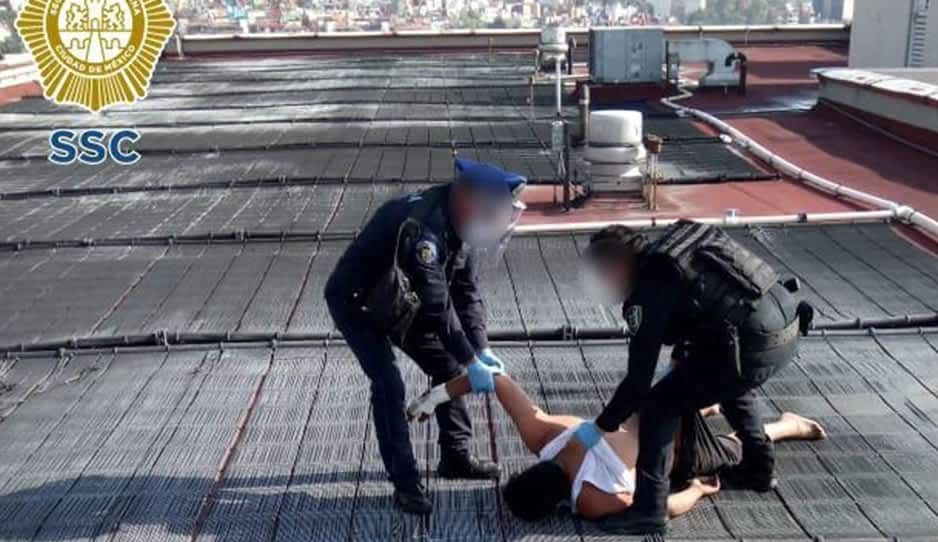 Policía narra cómo evitó suicidio de hombre con coronavirus