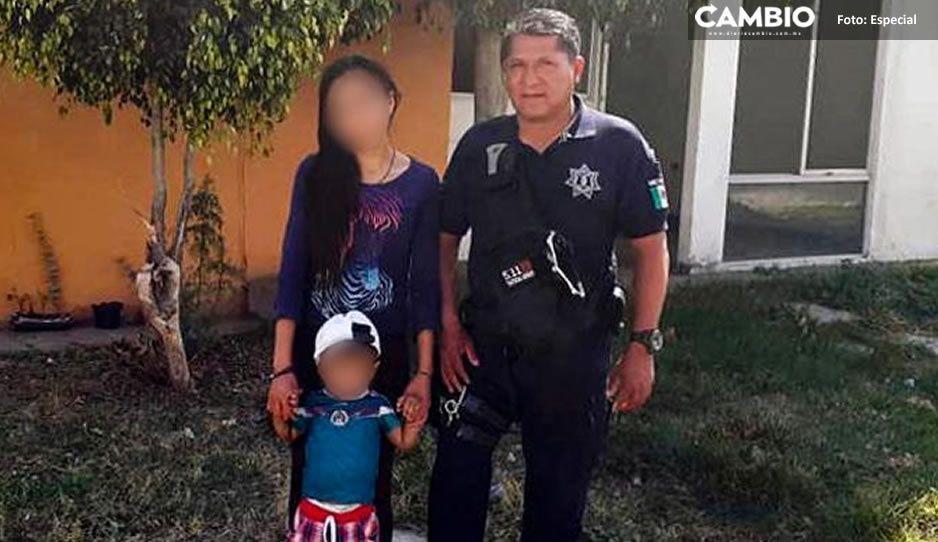 ¡Héroe sin capa! Policía de Huejotzingo reanima a menor y lo salva de morir intoxicado