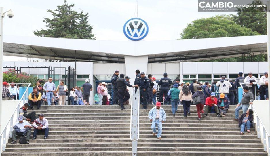 Contratará Volkswagen 600 trabajadores eventuales tras reapertura