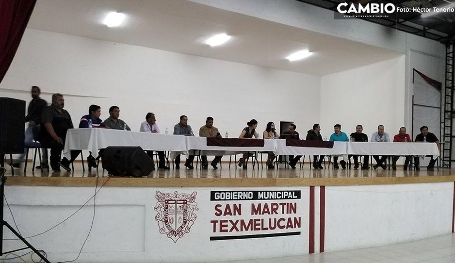 Tianguis de San Martín se suspende; así lo acordaron las Autoridades de Texmelucan y los líderes tianguistas