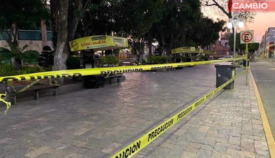 Para quienes no quieren quedarse en casa: Ayuntamiento de Texmelucan cierra el zócalo por Covid-19