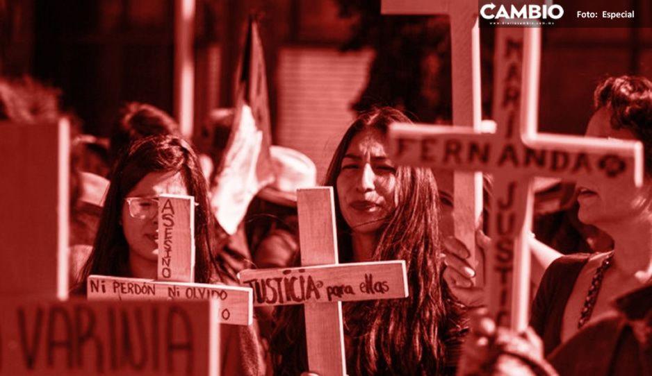 Con 45 víctimas en 2020, Puebla es sexto lugar nacional en feminicidios