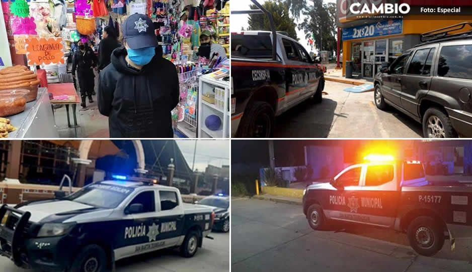 Estados y municipios trabajan de la mano para fortalecer la seguridad en San Martín Texmelucan