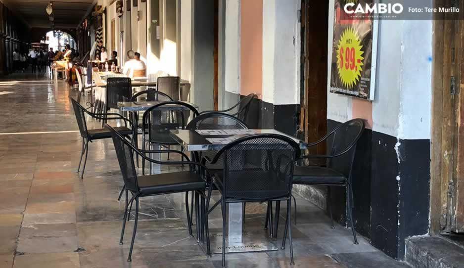 Restaurantes 'convertirán' las banquetas del Centro Histórico en Terrazas