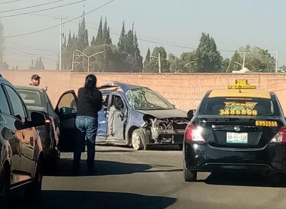 Fatal accidente en la Recta Cholula deja un muerto y tres heridos de gravedad (FOTOS)