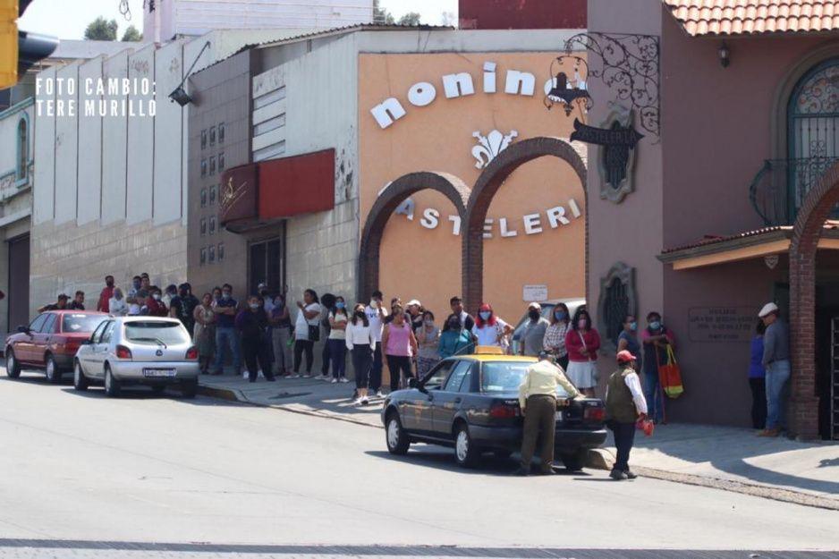 #DíaDeLasMadres: Poblanos atiborran pastelería Noninas de la Calzada Zaragoza y sin Susana Distancia (FOTOS y VIDEO)