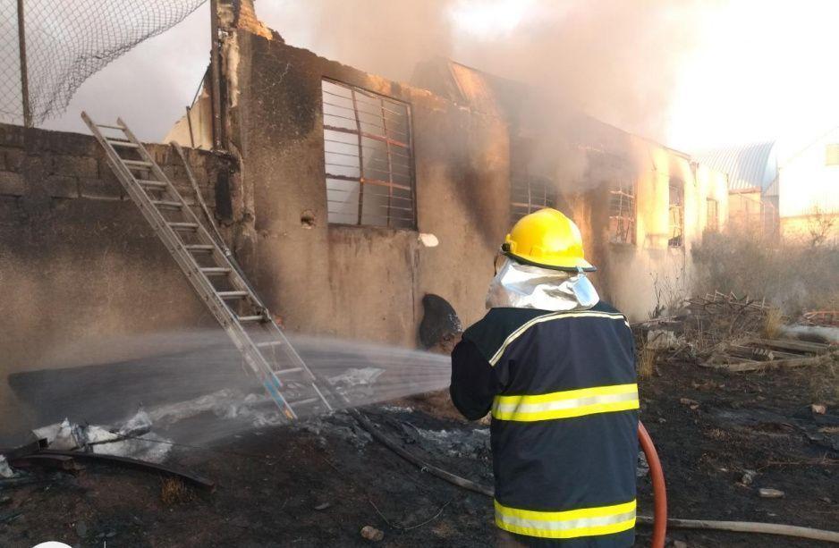 Controlan incendio en Lomas de Castillotla, no se reportan lesionados