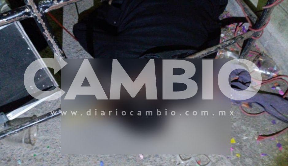 Ejecutan a sonidero tras fiesta a San Juditas en Cañada Morelos
