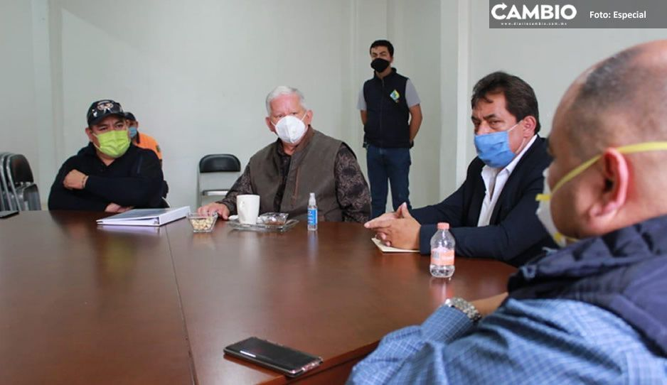 Crean Comisión de Contingencia Meteorológica y Atmosférica en prevención de desastres por las próximas lluvias en Teziutlán