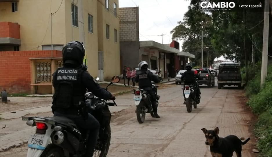 Riña deja cuatro detenidos y dos lesionados en Texmelucan
