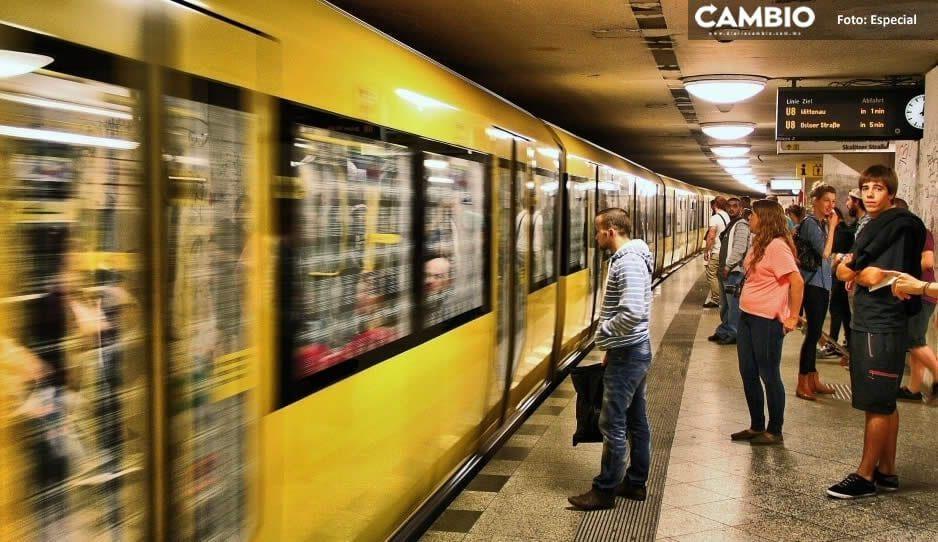 Proponen no usar desodorante en el metro para que el olor a sobaco los obligue a usar cubrebocas