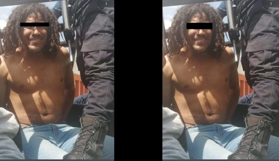 Detienen a sujeto tras intentar ingresar a preescolar en Huejotzingo