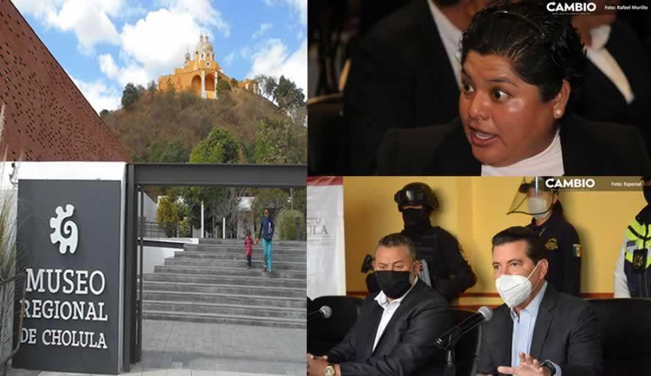 Karina Pérez enfrenta a San Pedro Cholula por jurisdicción de Museo Regional de Cholula
