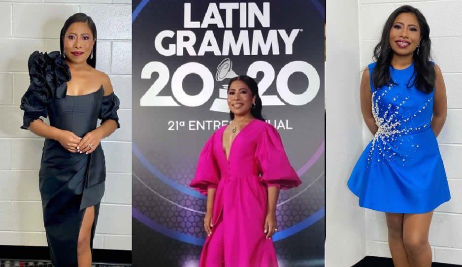 Yalitza triunfa con 6 acertados looks en los Latin Grammy 2020