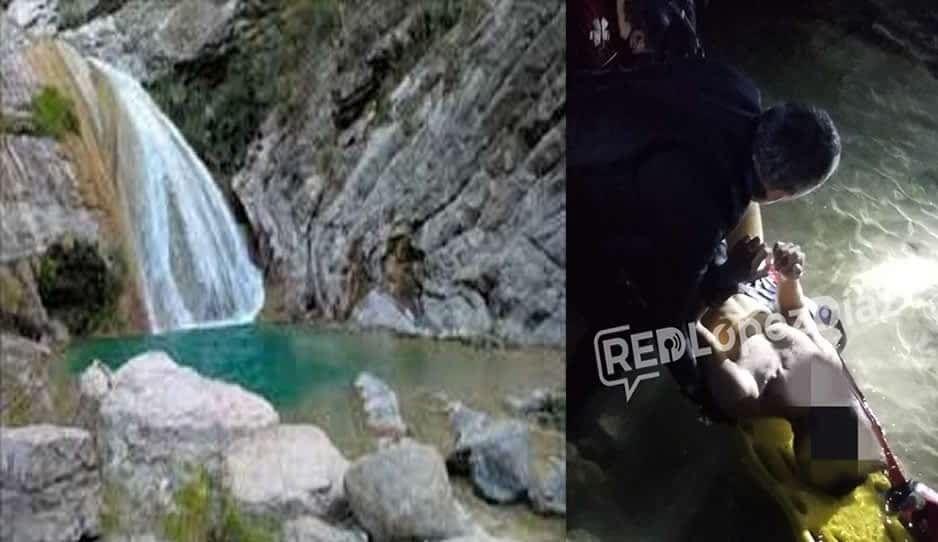 Brayan fue a nadar con sus amigos a las cascadas de Ahuehuetla y encontró la muerte