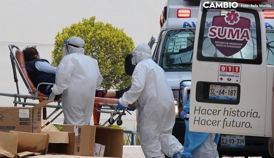 Descenso de coronavirus en Puebla: mil 490 nuevos casos y 43 muertos el fin de semana