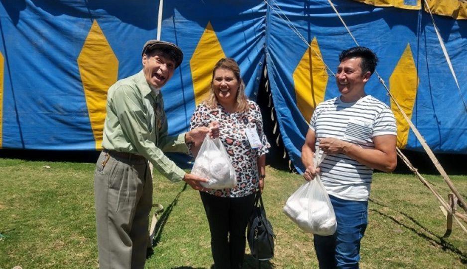 Crisis por Covid-19  deja sin alimento a trabajadores del circo Daniel Atayde en Teziutlán
