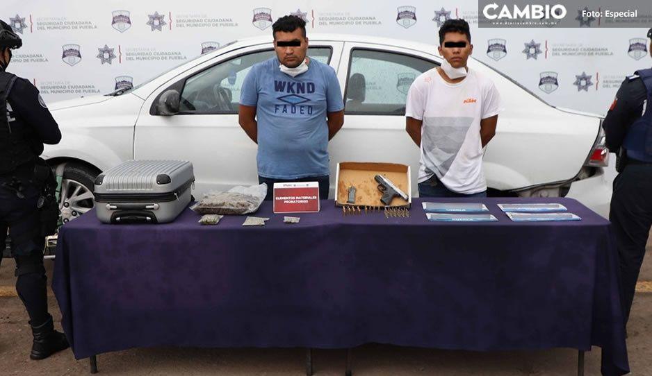 Caen presuntos narcomenudistas que balearon a una persona en Hacienda de Santa Clara