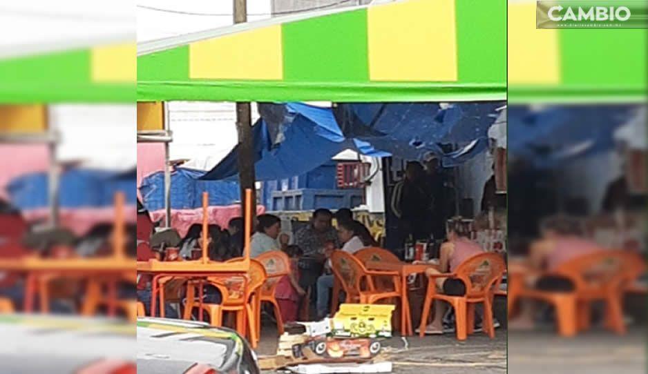 ¿Y el Ayuntamiento? En plena vía pública venden bebidas alcohólicas en el Morelos