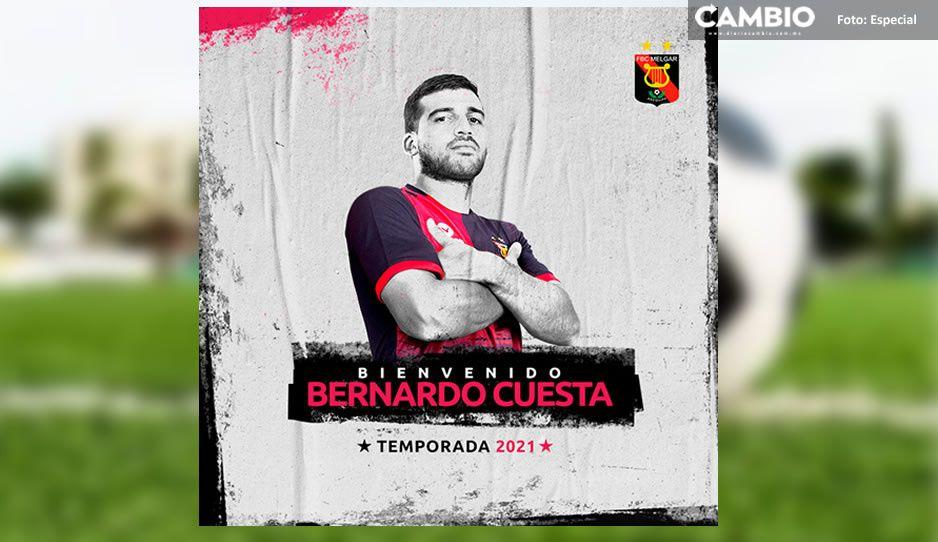 Bernardo Cuesta se va del Club Puebla para jugar con el Melgar
