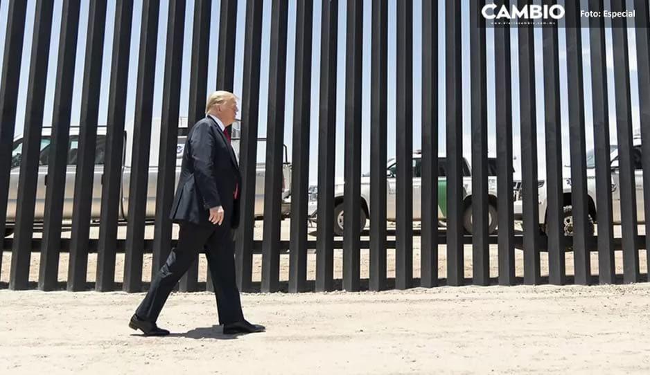A días de que AMLO visite EU, Trump presume fotografías en el muro fronterizo en San Diego ¿mensaje oculto?