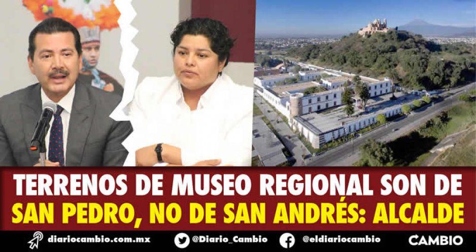 Terrenos de Museo Regional son de  San Pedro, no de San Andrés: alcalde (VIDEO)