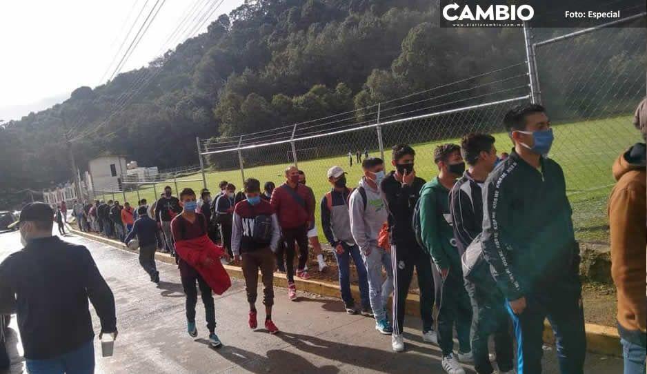 Club Leones Dorados de  Teziutlán realiza visorías