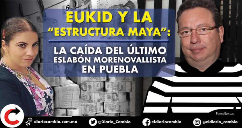 Eukid y la Estructura Maya: la caída del último eslabón morenovallista en Puebla