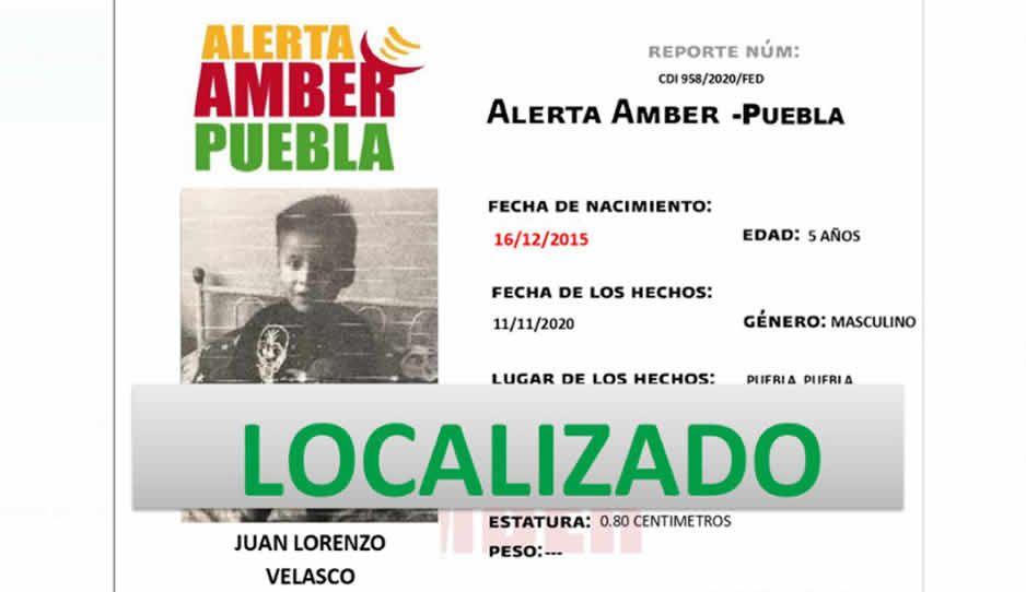 Aparece Juan Lorenzo, niñito extraviado: su madre olvidó dónde estaba