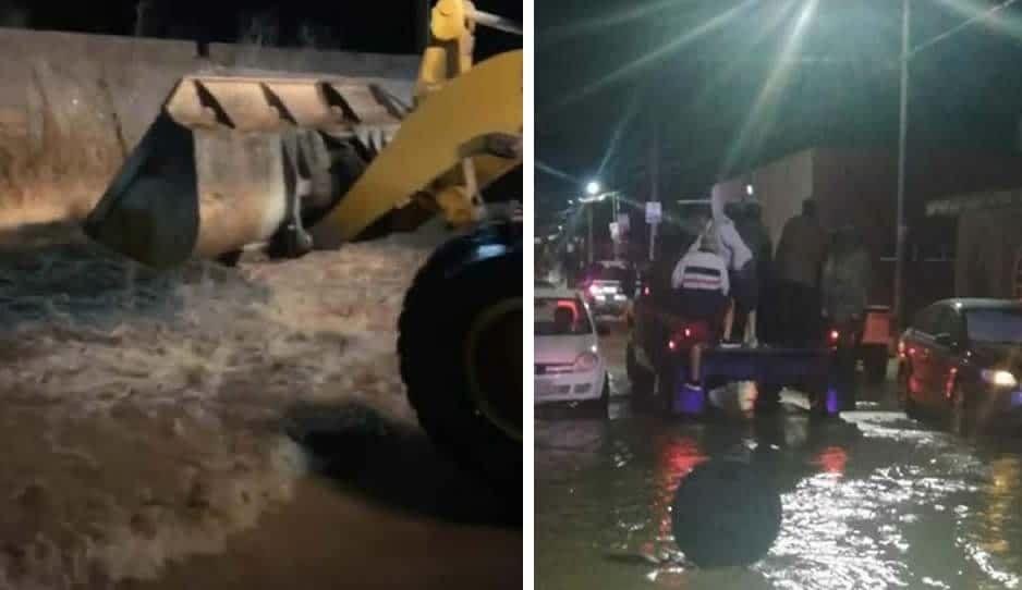 Tormentón inunda 320 casas en La Asunción en Amozoc; Sedena activa plan DN-III