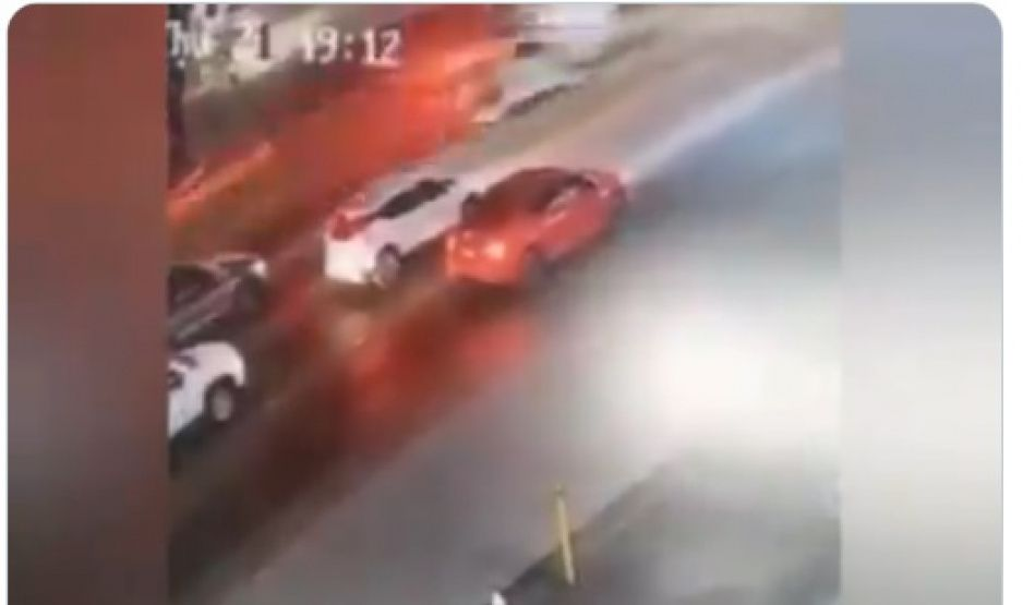 Así fue como Toretto del Mustang amarillo y la patrulla provocaron accidente (VIDEO)