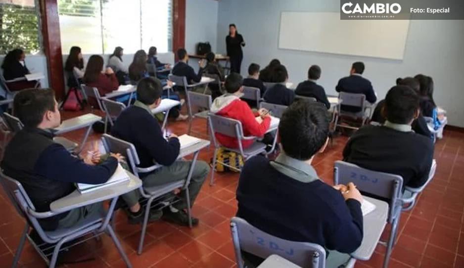 Más de 500 profesores no están en condiciones para las clases presenciales en Serdán